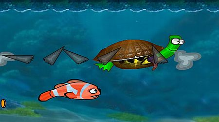 Game's screenshot - Underwater Racing
