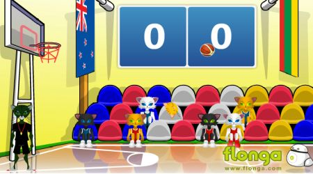 Game's screenshot - World Basketball Championship