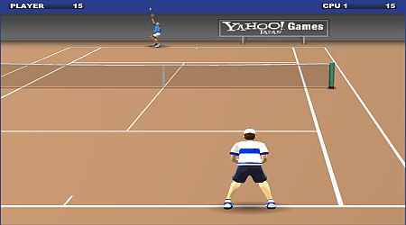 Game's screenshot - Yahoo Tennis