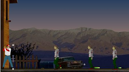 Game's screenshot - Zombie Baseball
