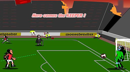 Game's screenshot - Zombie Football