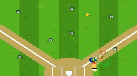 Game's screenshot - Zombie Home Run