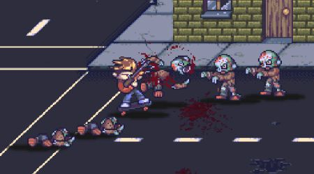 Game's screenshot - Zombie Land