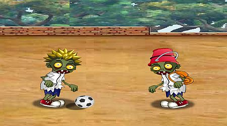 Game's screenshot - Zombie Soccer